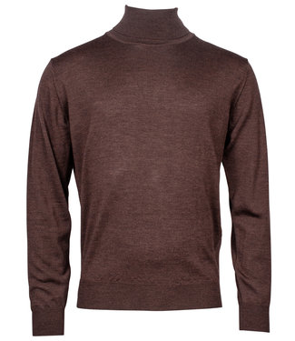 Baileys coltrui Pullover donkerbruin Roll Neck