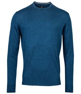 Baileys ronde hals trui Pullover turqoise blauw Crew Neck