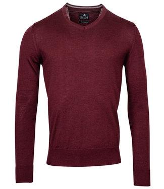 Baileys v-hals Pullover bordeaux rood V-Neck