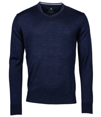 Baileys v-hals Pullover nacht blauw V-Neck