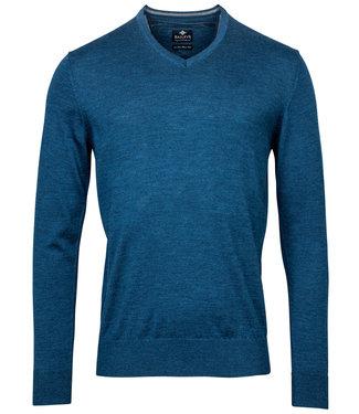 Baileys v-hals Pullover petrol blauw V-Neck