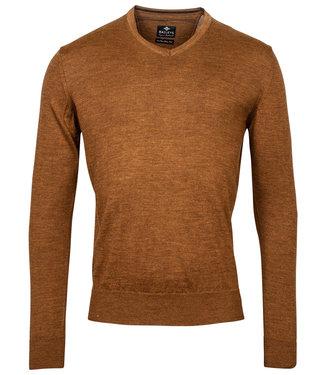 Baileys v-hals Pullover licht bruin V-Neck