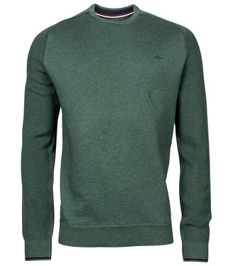 Baileys groen ronde hals heren sweater