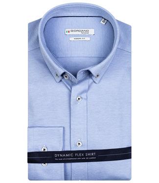 Giordano Tailored lichtblauw jersey dynamic flex