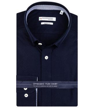 Giordano Tailored donkerblauw jersey dynamic flex