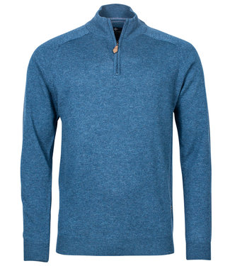 Baileys heren zipper ritsje blauw lamswol
