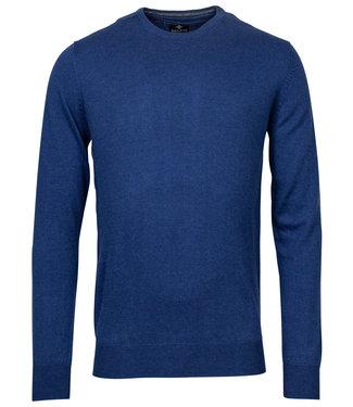 Baileys kobaltblauw ronde hals heren trui