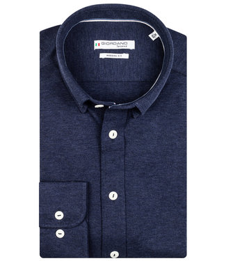 Giordano Tailored donkerblauw jersey knitted dynamic flex