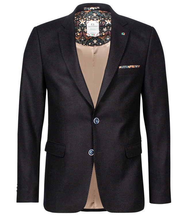Giordano Blue zwart jasje colbert blazer