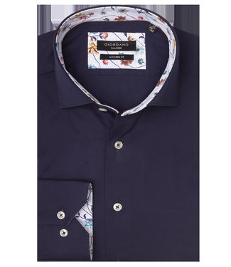 Giordano Tailored donkerblauw