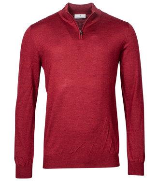 Thomas Maine heren rood zipper trui ritsje