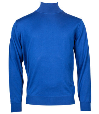Baileys coltrui Pullover blauw Roll Neck