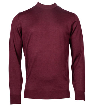 Baileys turtle trui Pullover bordeaux rood