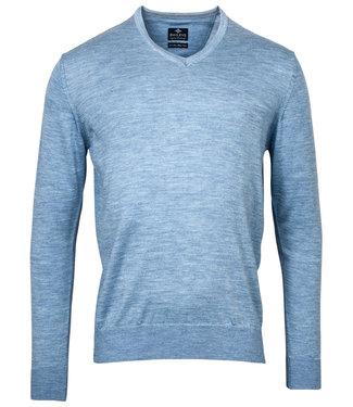 Baileys v-hals Pullover lichtblauw V-Neck