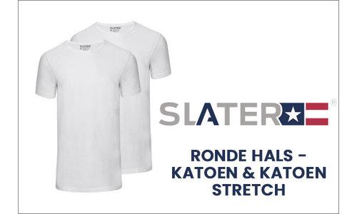 Slater t-shirts ronde hals