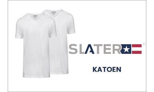 Slater t-shirts katoen