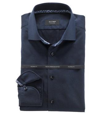 Olymp strijkvrij overhemd donkerblauw