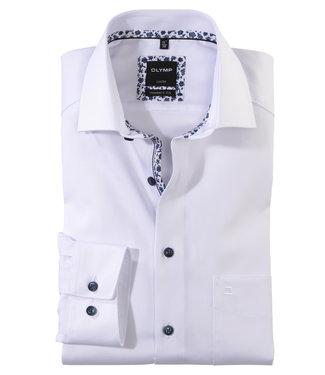 Olymp overhemd wit uni mouwlengte 7