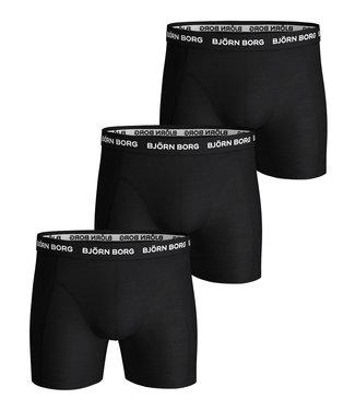 Bjorn Borg Boxers heren boxers 3 pack zwart essential shorts