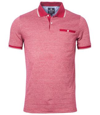 Baileys polo rood roze  wit print
