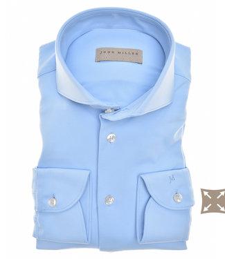 John Miller lichtblauw hyperstretch tailored fit