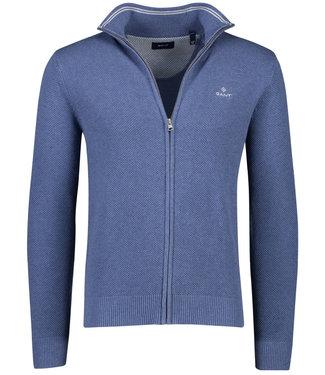 Gant heren jeans blauw vest structuur