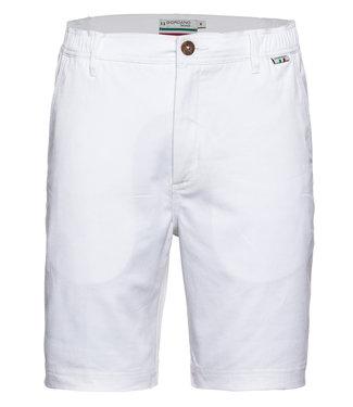 Giordano Tailored heren wit korte broek model mr. Stretch Tandpasta Marvis