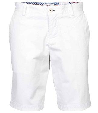 Giordano Tailored heren wit korte broek