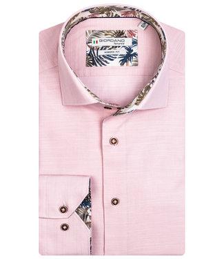 Giordano Tailored heren overhemd lichtroze