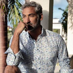 Giordano comfortabel overhemd lange mouw