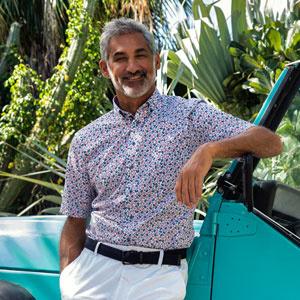 Giordano zomers overhemd korte mouw
