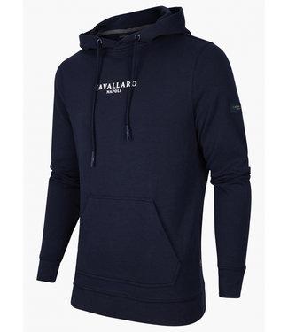 Cavallaro heren Athletic hoodie donkerblauw