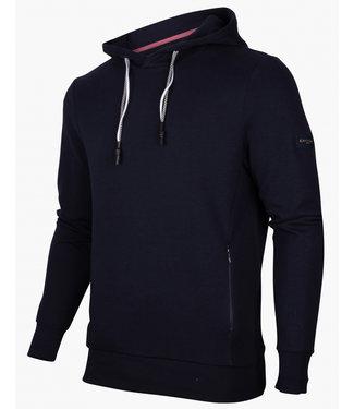 Cavallaro heren Tognazzi hoodie donkerblauw