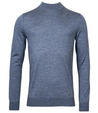 Thomas Maine heren licht jeans blauw turtle trui