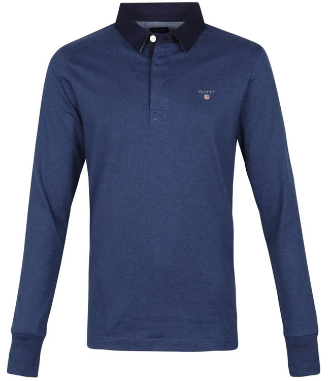Gant gant heren rugby sweater jeans blauw