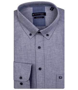 Giordano Regular Fit jeans blauw button down