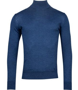 Baileys turtle trui pullover kobaltblauw