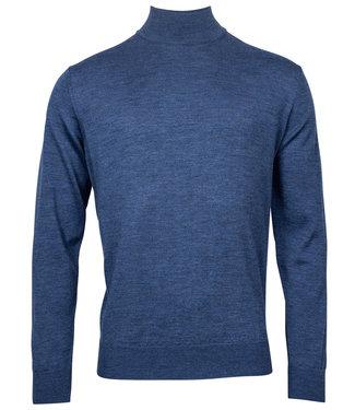 Baileys turtle trui pullover jeans blauw