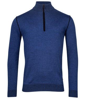 Baileys heren zipper met ritsje kobaltblauw