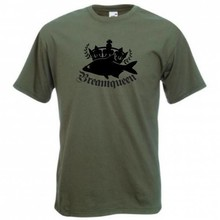 House of Carp Bream Queen T-Shirt - Groen