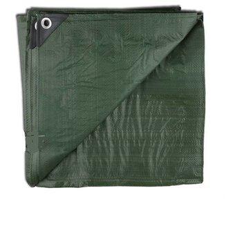 House of Carp Afdekzeil en grondzeil | 2-in-1 zeil in een groene kleur