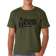 House of Carp Fishing & Beer T-Shirt - Army Green