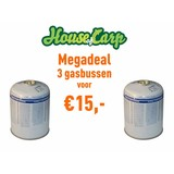 House of Carp Gas canister Megadeal