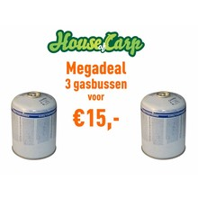 House of Carp Gas can 445 grams Mega Deal
