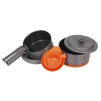 House of Carp Luxurious 9-piece outdoor cookware set with non-stick coating
