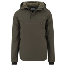 House of Carp Hooded Anorak Groen