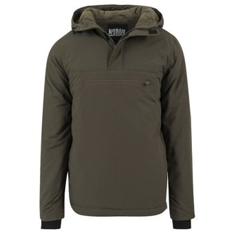 House of Carp Green Anorak With Warm Lining And Hood - Carp Fishing