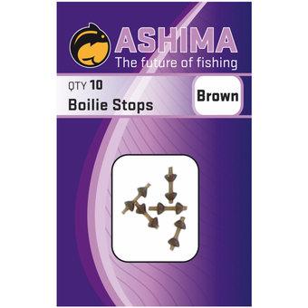 Ashima Ashima Boilie Stops Brown