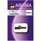 Ashima Lead Clips Brown