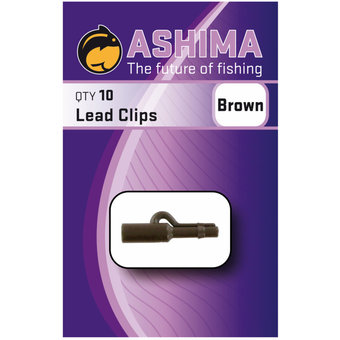 Ashima Ashima Lead Clips Brown